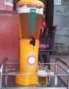 Khop Chai Deu in Vientiane serves Beer Lao in 3-llter towers